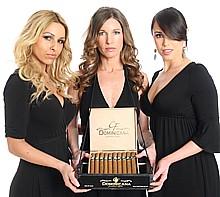 Atlanta area cigar server at cigar roller event